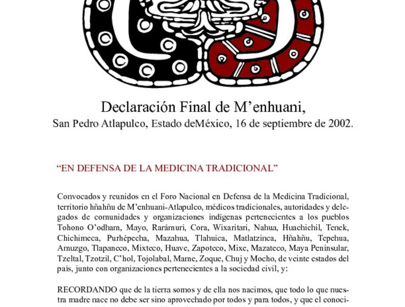 thumbnail of 6. Declaración Final de M'enhuani