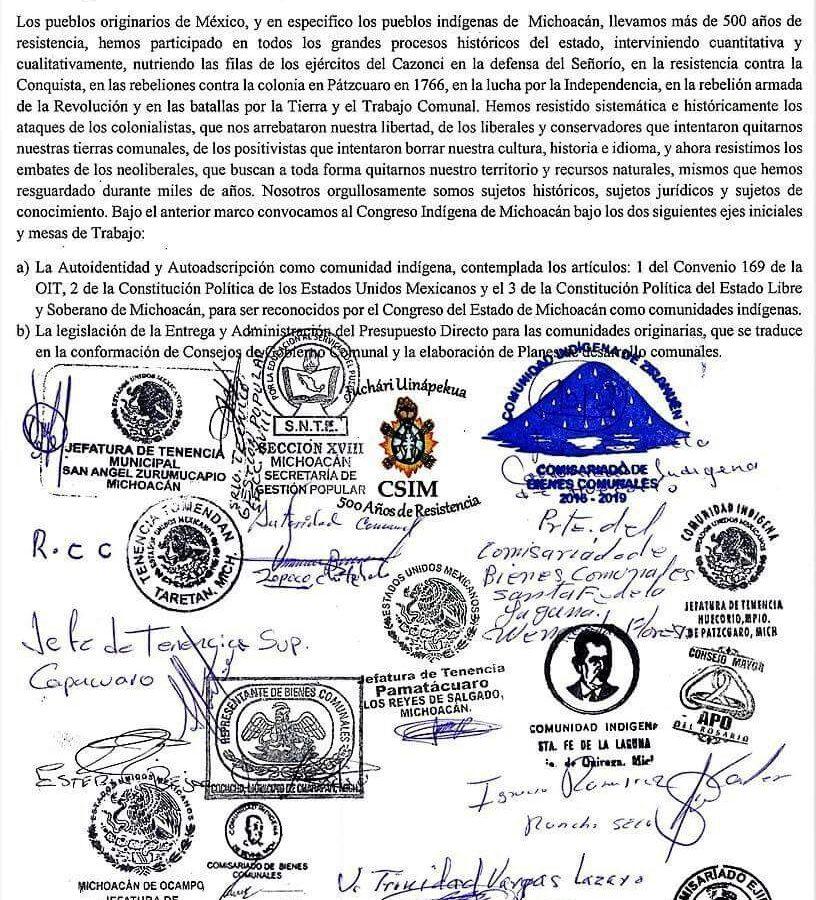 Consejo Supremo Indígena de Michoacán